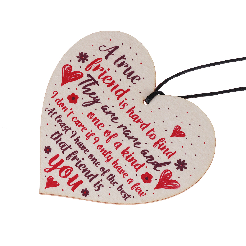 WOODEN BESTIES SHAPES gift tag art craft card make scrapbook embellishment words