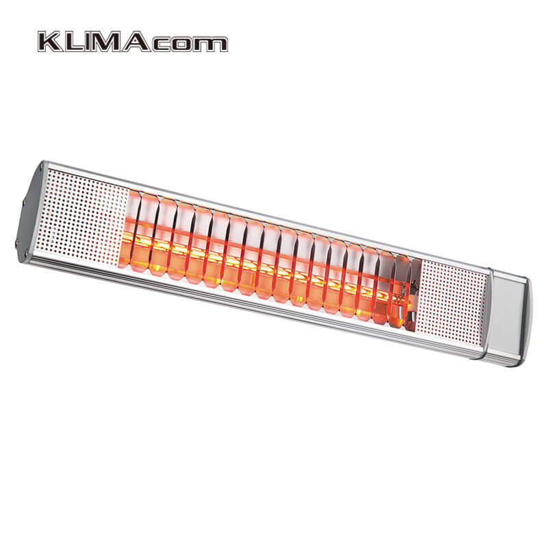2000wip patio heater electric indoor outdoor heaters 6m sq area covered warmer halogen wall mounting heaters