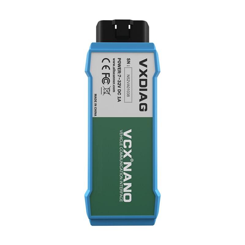 VXDIAG VCX NANO 6154 для ODIS V5.1.3/V5.1.5 для V-W OBD2 wifi автомобильный диагностический инструмент сканер automotivo 6154A для Skoda для AUDI