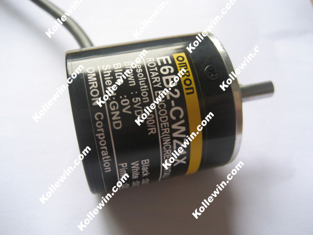 Freies verschiffen OMR Inkrementalgeber E6B2-CWZ1X 400 P/R LINE DRVR, 5VDC, ABZ Phase E6B2CWZ1X 400 P/R NEW in Box