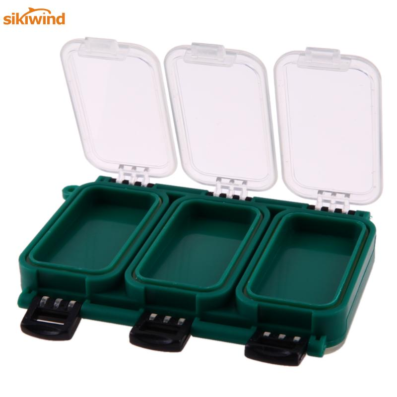 Fly Fishing Reel and Gear Bag Lures Baits Storage Case with 6 Compartment