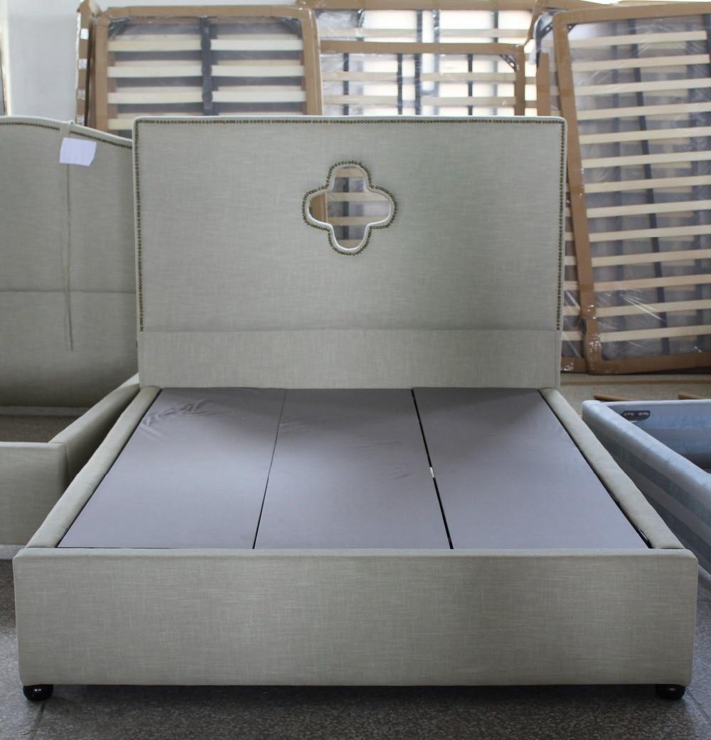 Moderno Plataforma Básica Muebles Marco De La Cama Embellecimiento ...