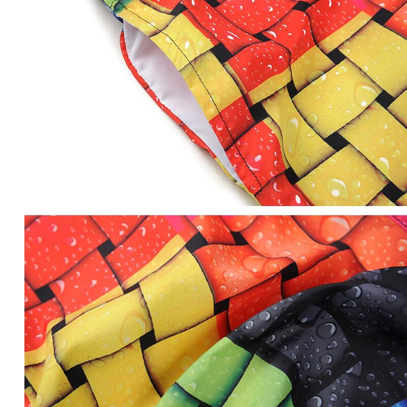 492900ccb082b Novelty Men's Woven Bags Pattern Beach Pants Men 3D Printed Board Shorts M  3XL Swim Trunks Plus Size Man Swimwear-in Surfing & Beach Shorts from  Sports ...