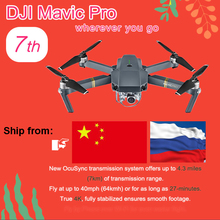 DJI Mavic Pro Drone Comprennent 3 batterie Mavic Pro Fly combo Drone avec 4 K HD Caméra Pliant FPV Drone mavic pro carbone 4 K GPS