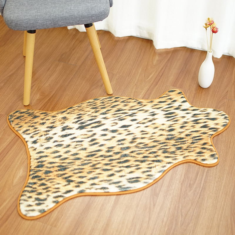 Animal Skin Chair Covers Adirondack Diy Ana White Drop Faux Mat Sofa Cover Warm Carpet Seat Pad Anti Slip Area Rugs Absorbent Bathroom Bedroom Tiger In From Home Garden On