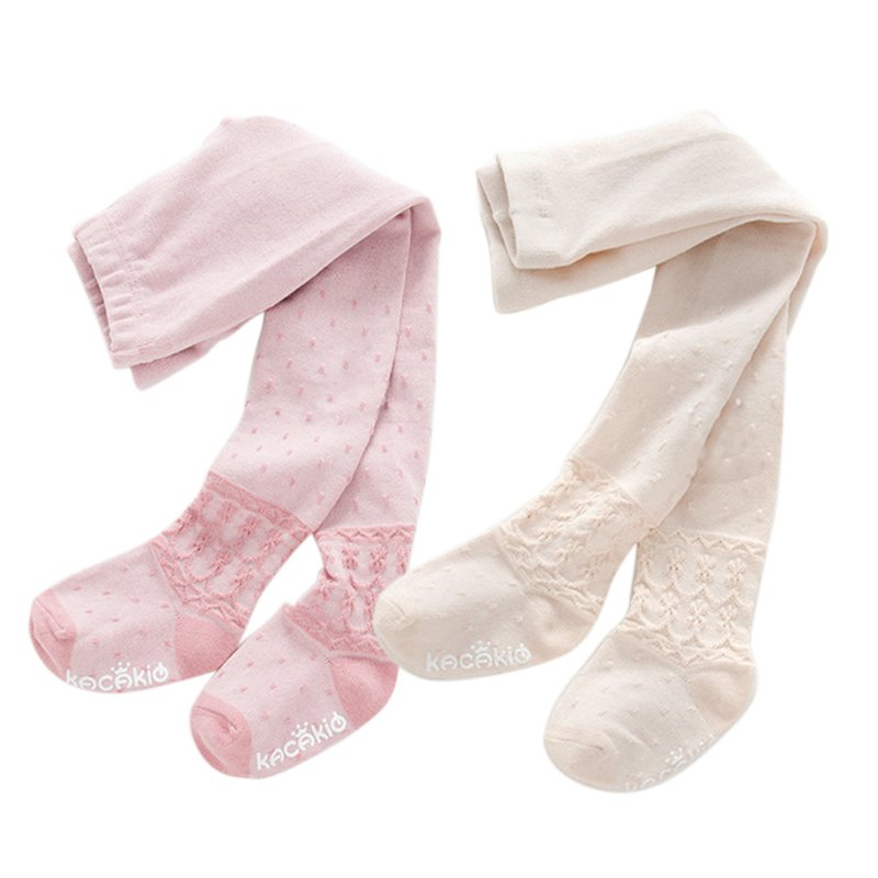 2018 New Baby Hot Pink White Winter Cotton Baby Girl Tights Stockings Breathable Casual Long Toddler Pantyhose Baby Stocking