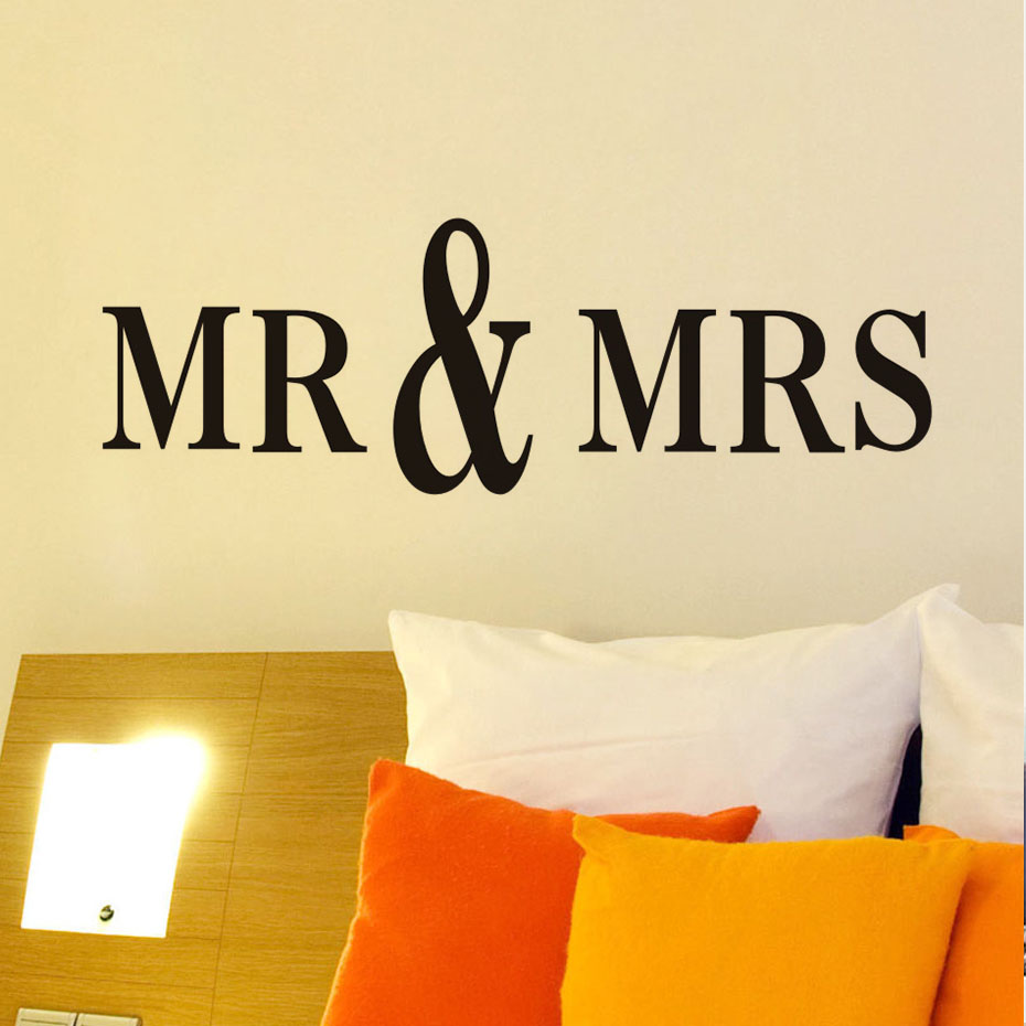 Fantastic Mr & Mrs Wall Decor Gift - Wall Art Collections ...