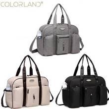 Colorland сумка-Органайзер для детских подгузников, модная сумка для мам, сумка-мессенджер для мамы, сумки для подгузников