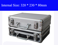 Aluminum Tool Case Suitcase Toolbox File Box Impact Resistant Safety Case Equipment Camera Case With Pre
