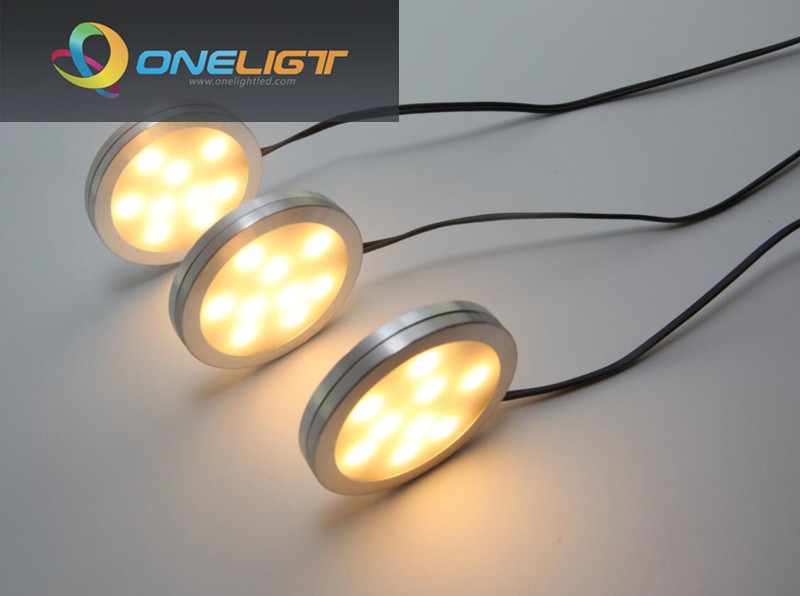 Aliexpress Com Buy 3x2w Led Under Cabinet Light Puck
