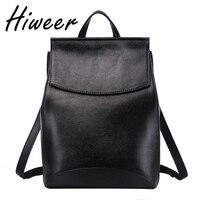 Genuine Leather Backpack Elegant Women S Backpack Cow Leather Backpacks Female Leather Shoulder Backpack