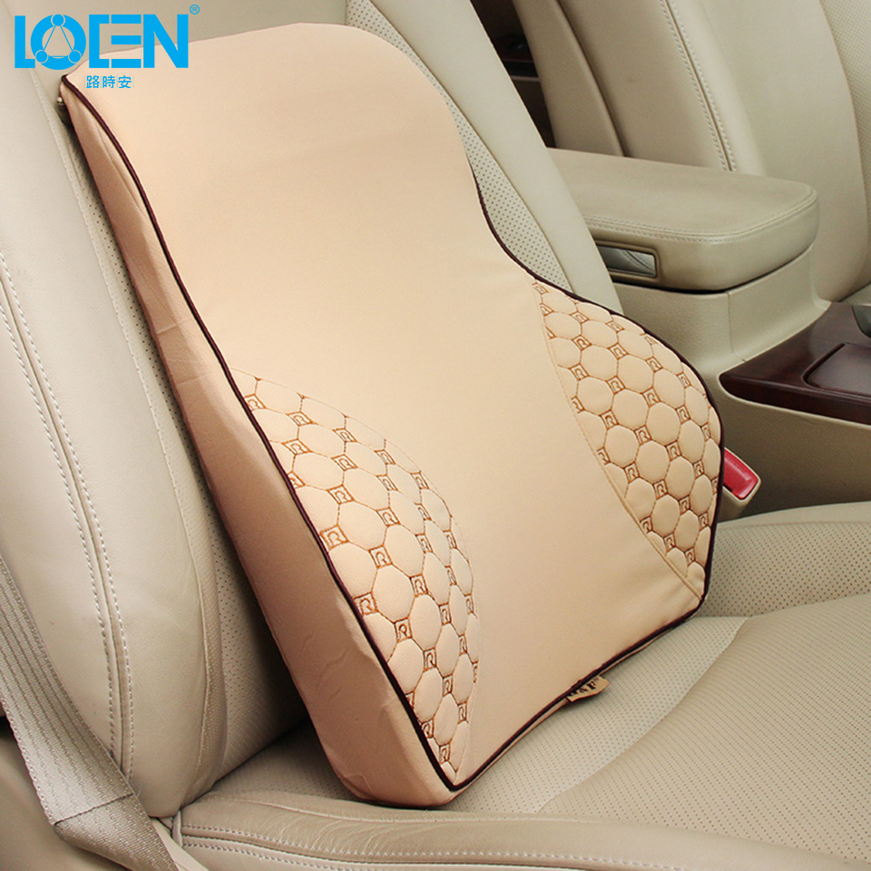 1pc memory foam car seat cover lumbar support back chair for audi bmw lada polo golf