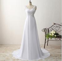 Sexy Empire Women Wedding Dress Vestido De Noiva 2015 Robe De Mariage Vestidos Boda Trouwjurk