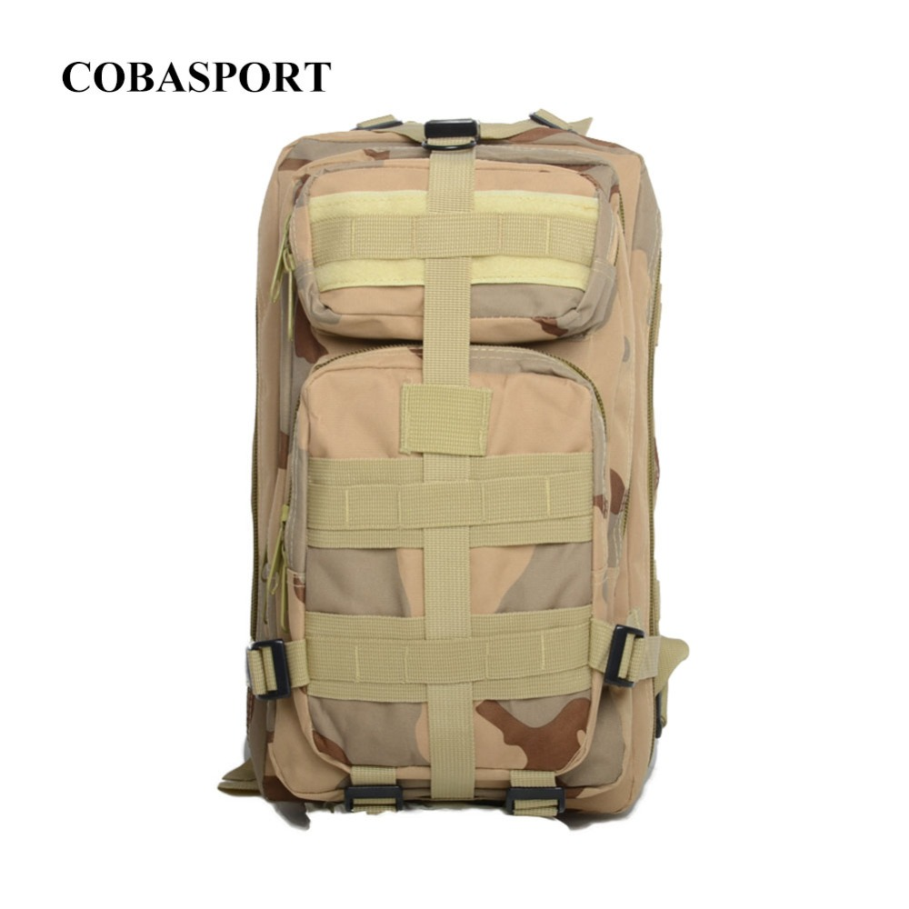 Army camouflage backpack Waterproof bags 30 liters high-quality wear-resisting travel leisure bag 2017 hot sale men 50l military army bag men backpack high quality waterproof nylon laptop backpacks camouflage bags freeshipping