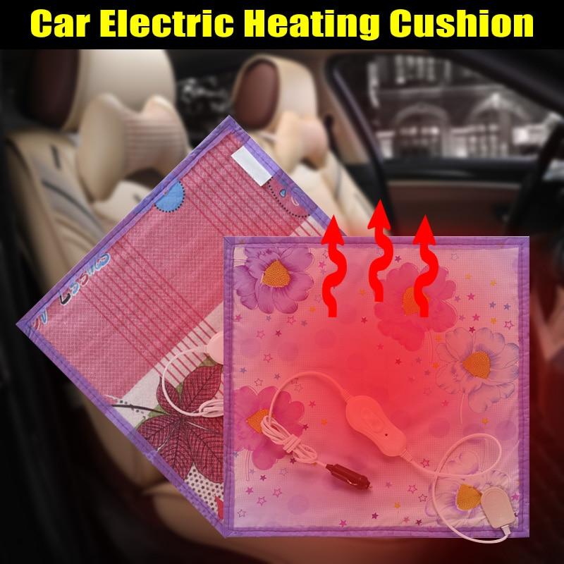 12 В в автомобиля подогрев подушки Pad Авто прикуриватели термальность нагрева одеяло DXY88