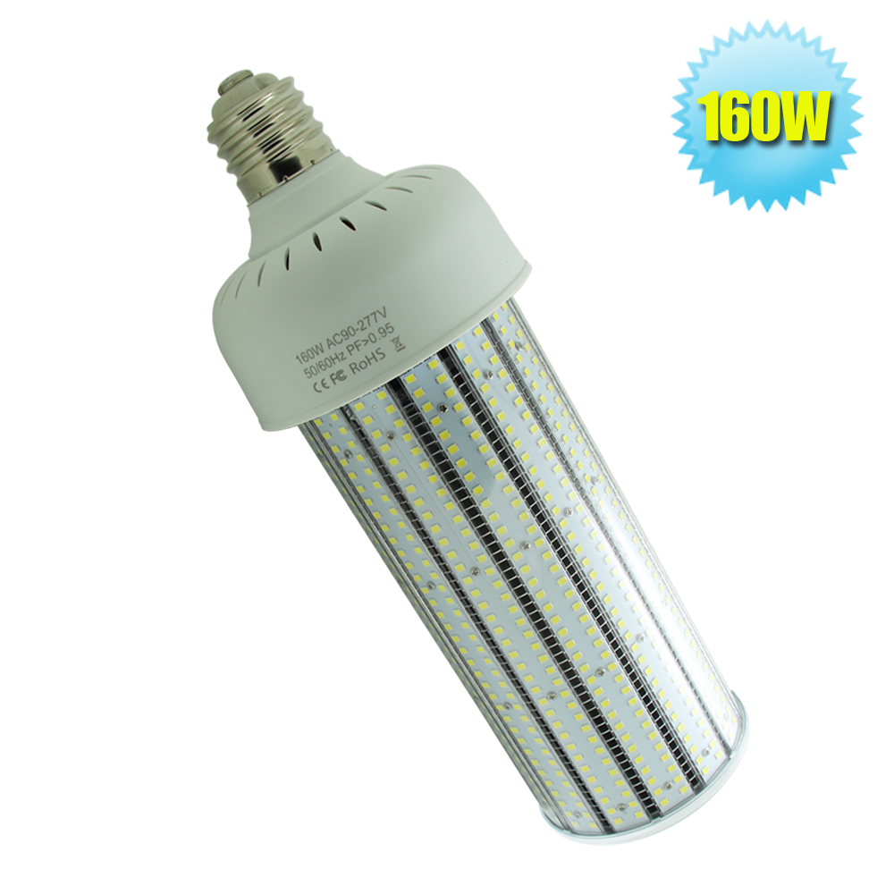 AC90~277V LED Clearly PC Cover Light Bulbs 160W Warehouse