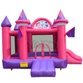 Princess inflatable castle bouncer with slide long life use, happy gift for Chirstmas day