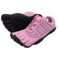 女性のアンチスキッドアウトソール 5 指つま先速乾性屋外ウォーキング/Hilking 登山靴通気性軽量 5 つま先靴