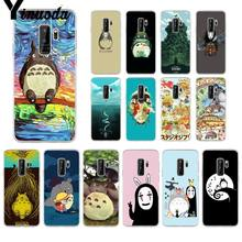 Yinuoda Cute Totoro Spirited Away Ghibli Miyazaki TPU Phone Case Cover for Samsung S9 S9 Plus S8 S8plus S7 S6 S5 Mobile Cases(China)