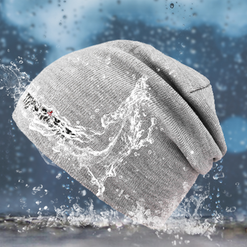 Men/women breathable coolmax wool hiking running waterproof/windproof outdoor sports beanie knitted winter thermal snow cap/hats