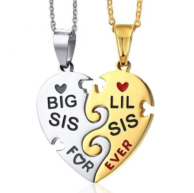 Ожерелье женское с подвеской в виде сердца