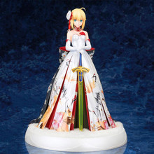 Saber Fate/Grand Order sexy kimono Figuur anime action geschilderd Sabel model doll collectible figurine speelgoed gift(China)