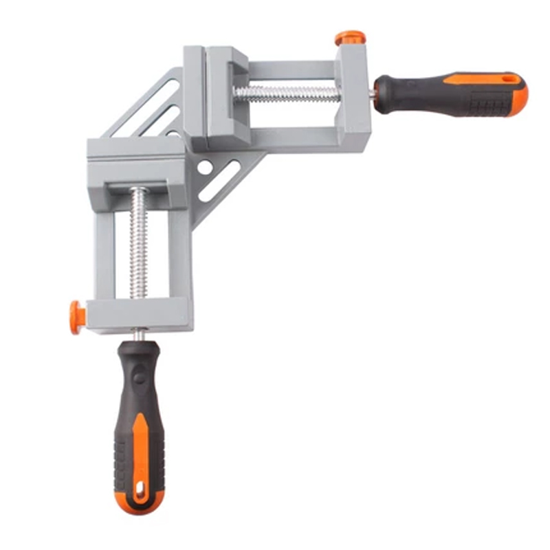 Right angle 90 degree angle clip woodworking vise angle clamp fast fast fixed jaw