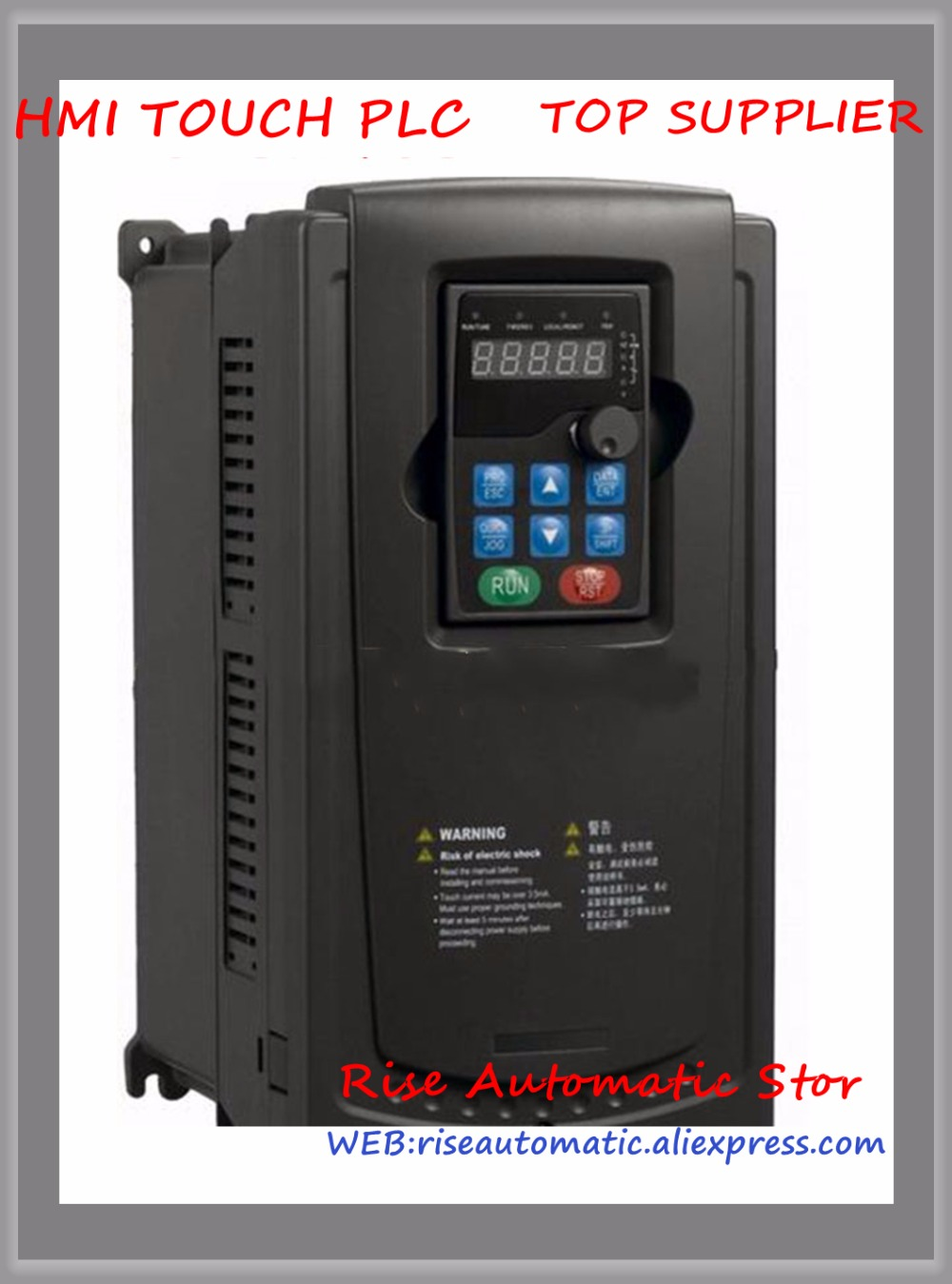 GD200-004G/5R5P-4 Inverter VFD frequency AC drive new 3-phase 400V 4/5.5KW 13.5/19.5A InputGD200-004G/5R5P-4 Inverter VFD frequency AC drive new 3-phase 400V 4/5.5KW 13.5/19.5A Input