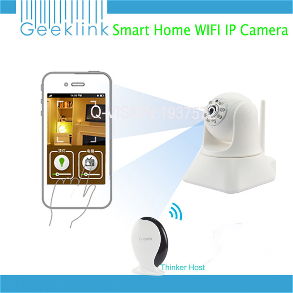Geeklink Thinker Universal Remote Control Router WIFI IR RF 315 433Mhz Mobile Control font b Smart