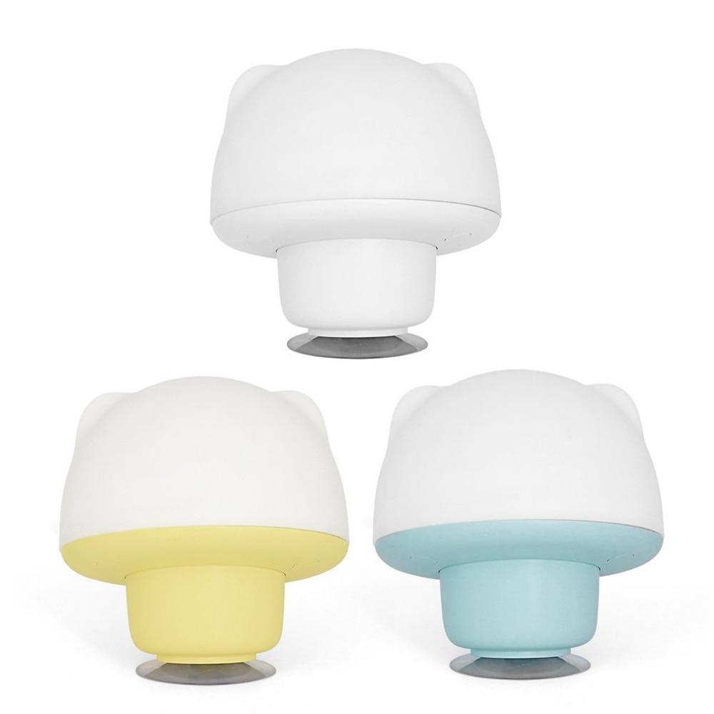 Wiederaufladbare Silikon sauger LED Lampe Touch Sensor Nachtlicht ...