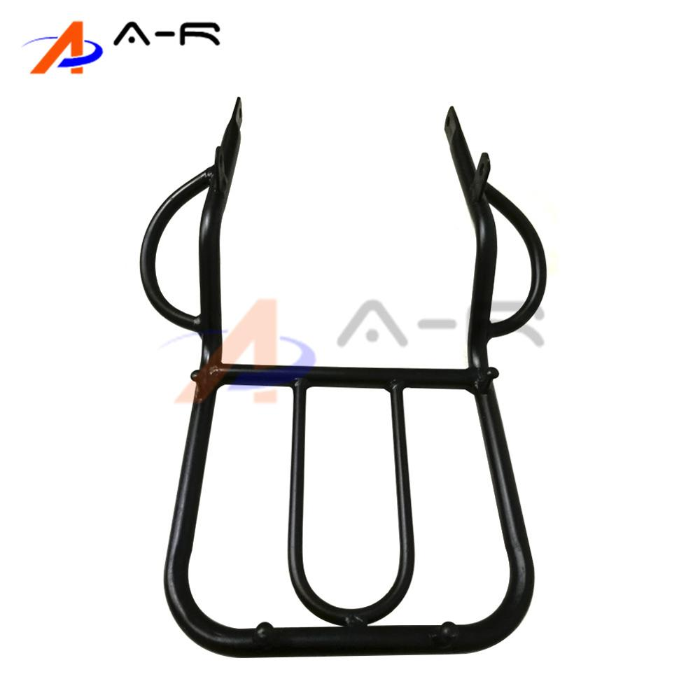 Motorcycle Detachable Rear Fender Luggage Rack Support Holder Saddlebag Cargo Shelf Bracket for Honda CRM250 CRM250R Heavy Duty