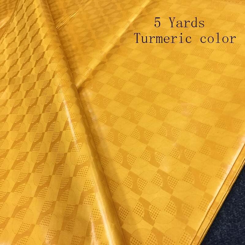 2019 New Africa Guinea Brocade Lace Fabric High Quality Cotton Bazin Riche Getzner 5 10Yards Senegal