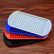 160 Grids DIY Creative Small Ice Cube Mold Square Shape Silicone Maker Eco-Friendly Cavity Tray Mini