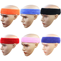 100% Cotton Hairstyling Head Band Salon Hair Accessories In 6 Colors Sweat Absortion Hairdressing Belt Sport Hair Cotton Band