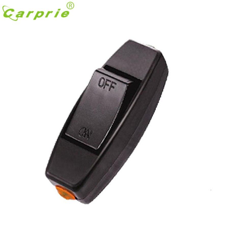 CARPRIE 6A 250V Lnline ON/OFF Table Lamp Desk Light Cord Control Switch l7105 DROP SHIP cenmax vigilant v 6 a