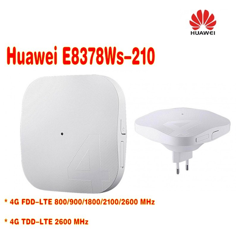 Unlocked Original HUAWEI E8378 E8378Ws 210 4G AP Routet WIFI Unlocked Huawei E8377 E8377s 153 4G LTE 150Mbps Carfi Hots in 3G 4G Routers from Computer Office