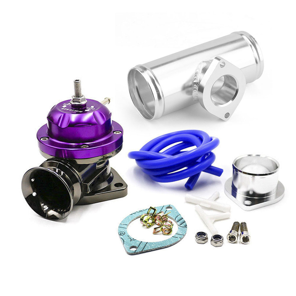 Purple Adjustable Type-RS Blow Off Valve Kit w// Manual Boost Controller 1-30PSI