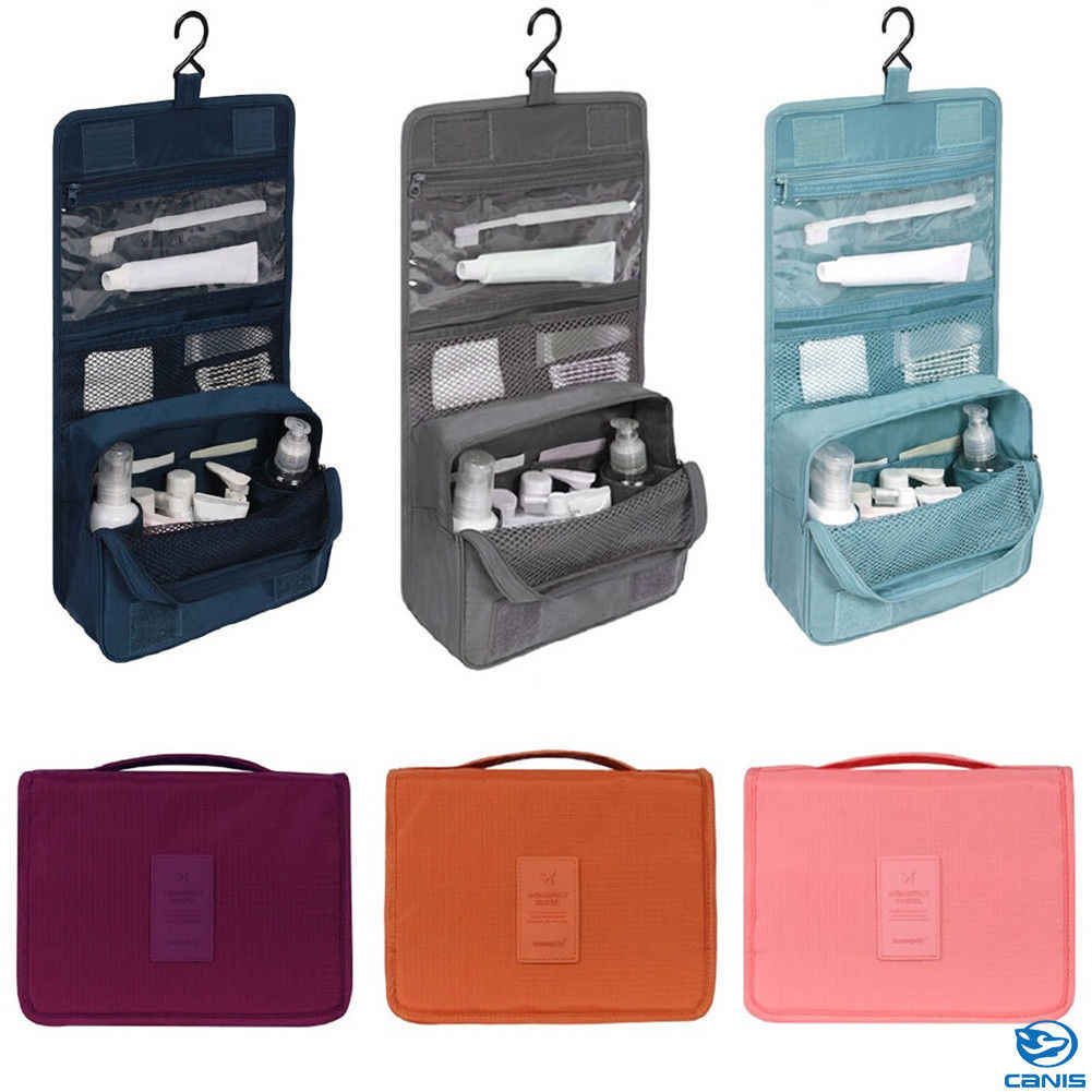 7478051753d 2018 Newest Hot Travel Makeup Cosmetic Toiletry Case Wash Organizer Storage  Pouch Hanging Bag High Quality