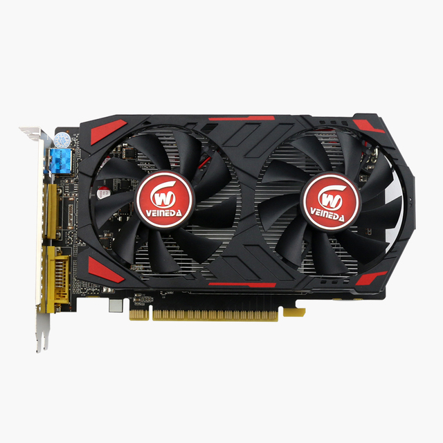 Video Card Original GPU GTX750Ti 2GB GDDR5 Graphics Cards InstantKill R7 350 ,HD6850 for nVIDIA Geforce games 1