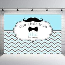 BEIPOTO наш маленький человек день рождения фон для фотографии фото фон десертный стол baby shower усы Декор студия