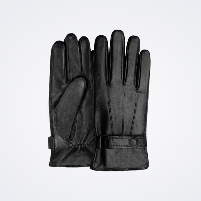 Image 2 - New Xiaomi Mijia Qimian Lambskin Touch Screen Finger Gloves Waterproof Spanish Raw Soft Leather Warm Winter For Women Man Drive-in Smart Remote Control from Consumer Electronics