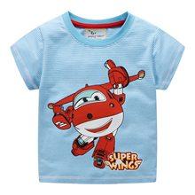 Boys T shirts cotton summer children clothing printing cartoon hot selling kids tees tops knitted t shirt boy camisetas 2-7T