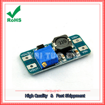 DC-DC step up power supply Module 2A Wide Voltage Input 2V/ 24V to 5V/9V/12V/28V Boost Adjustable Booster CONVERTER 2577 image