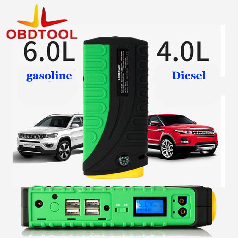 Car Jump Starter 68800mah Mini Emergency Charger Battery Booster Car Jump Power Bank Car Starter for Gasoline Diesel Motorcycle marko ferenzo набор украшений мишки 10 см 4 шт