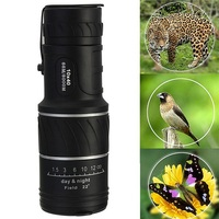 30x52 Dual Focus Optic Lens Day Night Vision Monocular Scope Binoculars KSKS