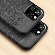 Applicable iPhone XS Mobile Shell Carbon Fiber IPhone 11 11Pro 11Pro MAX iPhone 8 Plus 6 6s 6p X XR Cover iPhoneXS max(China)
