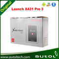 LAUNCH X-431 PRO3 for auto vehicles automotive diagnostic tool support software online update free one year