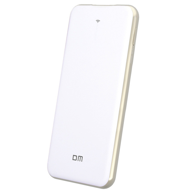 DM WFD028 Беспроводной USB Флэш-Накопители 128 ГБ WI-FI Power Bank 5000 мАч доля Данных Для iPhone/Android/PC Smart Pen Drive памяти