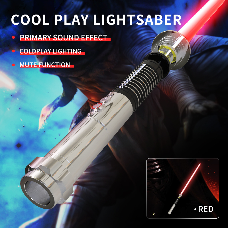 Sabre Laser Cosplay avec son lumineux Led rouge vert bleu sabre Laser nouveau sabre Laser Upgrad lumière lumineuse Up Wars - 2