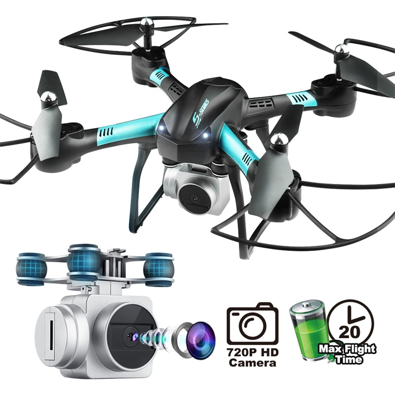 Large size 39cm drone S11T air pressure fixed high four-axis aircraft HD camera pfv drone flight 20 minutes rc helicopterLarge size 39cm drone S11T air pressure fixed high four-axis aircraft HD camera pfv drone flight 20 minutes rc helicopter